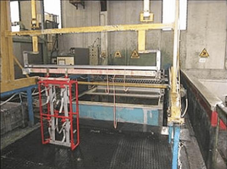 impianto elettrolucidatura inox