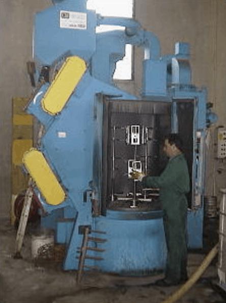 impianto granigliatura