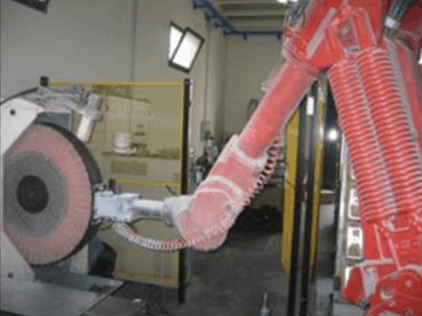 impianto lucidatura meccanica