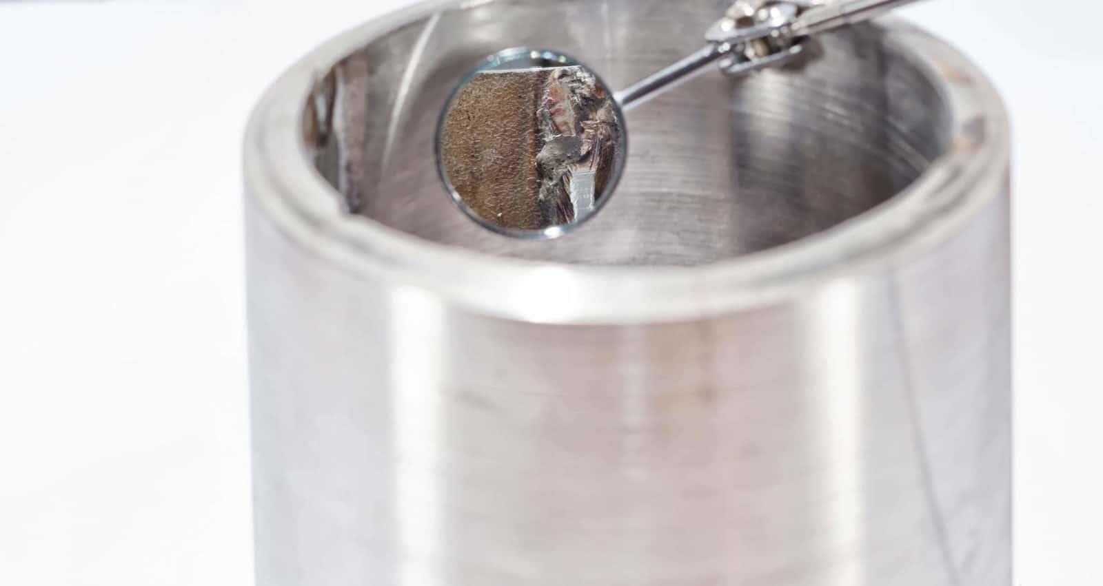 analisi cause corrosione inox