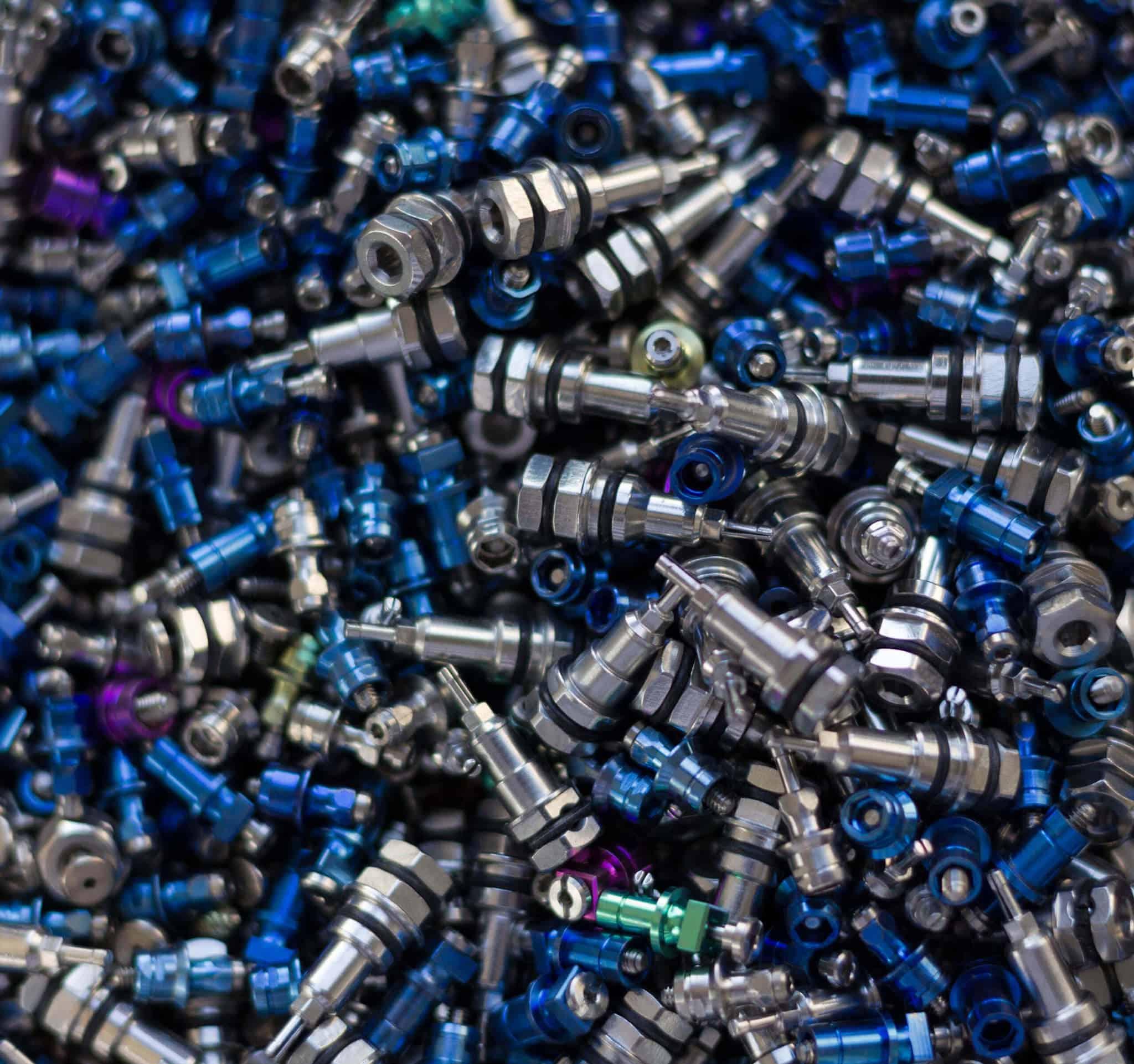 elettrocolorazione parziale titanio