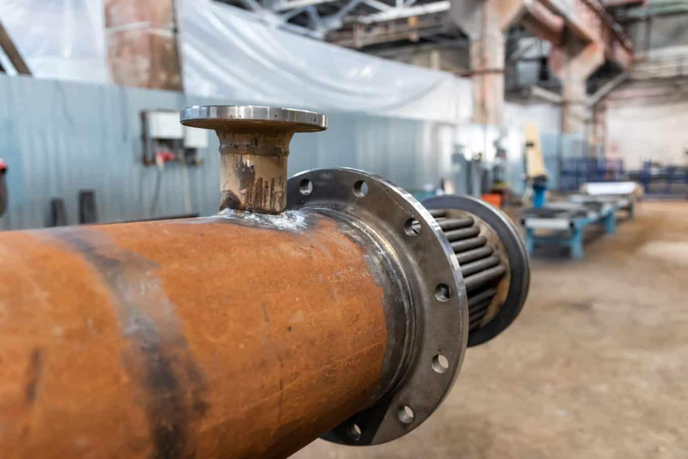 disossidazione acciaio carbonio scambiatore calore
