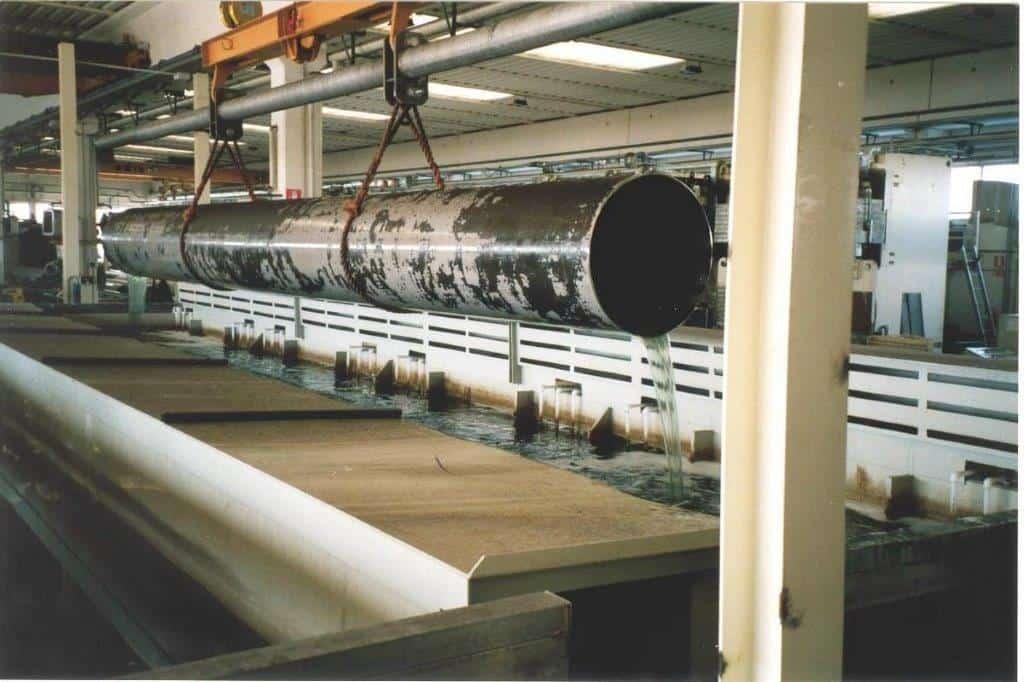 decapaggio bagno inox tubo