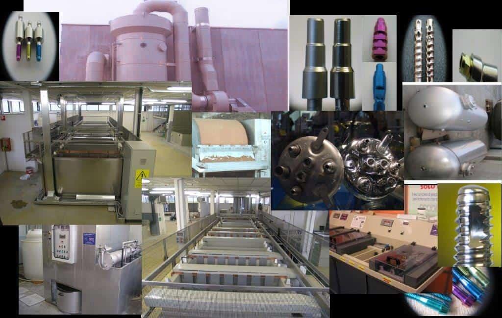 tecnologia acciaio inox titanio