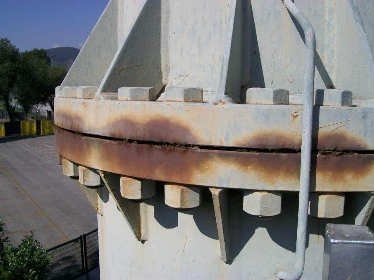 corrosione acciaio al carbonio